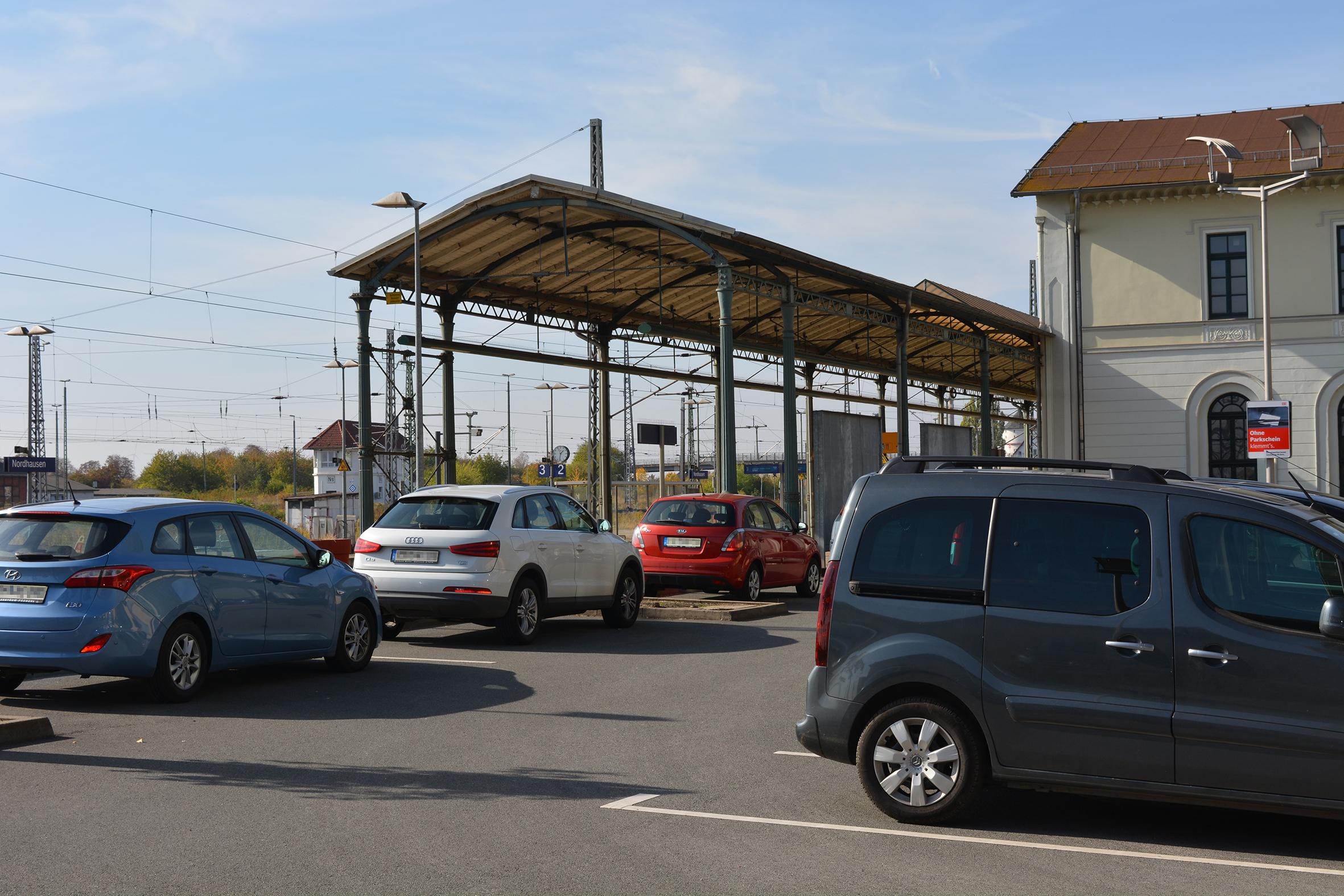 Bahnhof Nordhausen © Contipark
