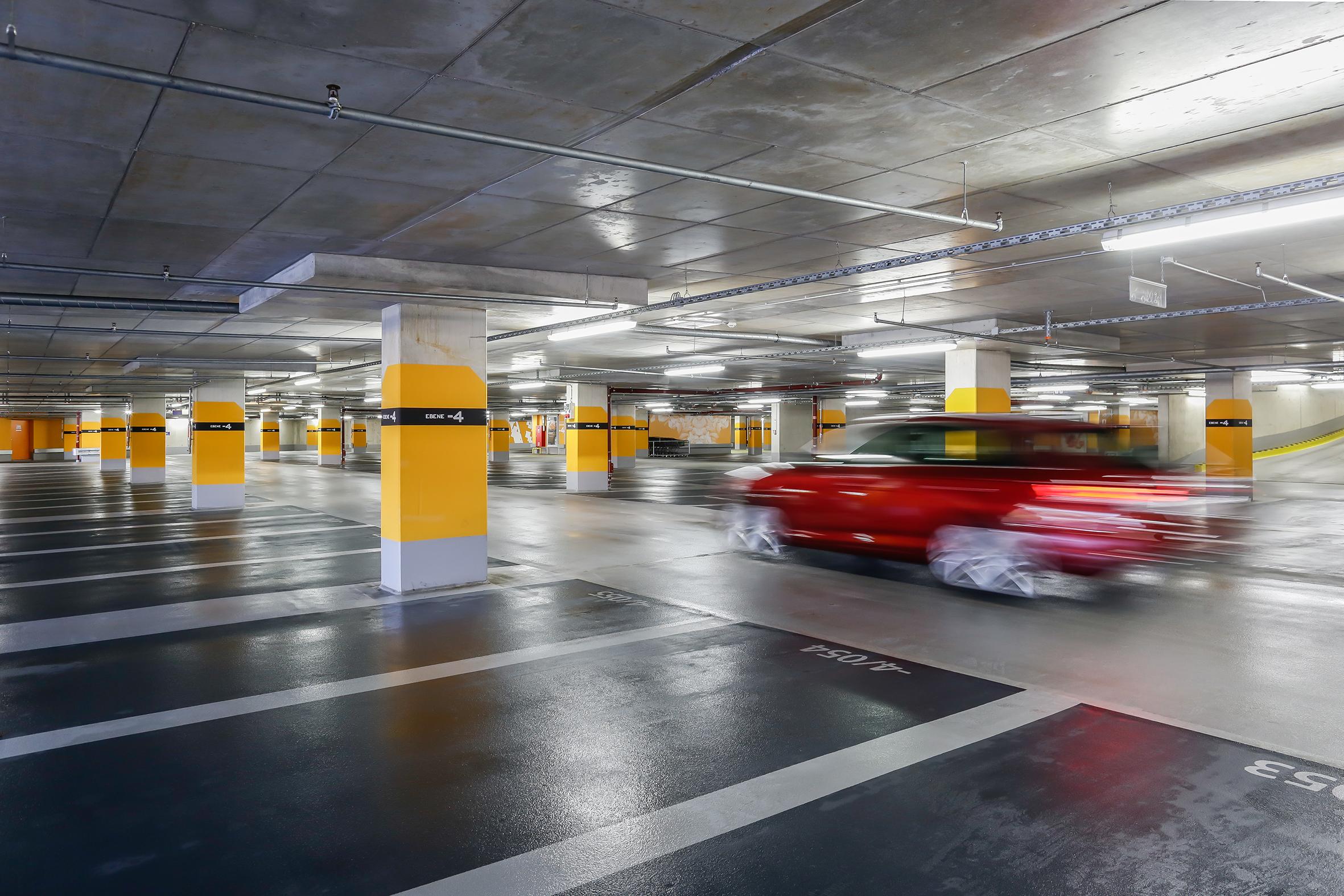 Solingen Hofgarten - Stellplätze © Contipark