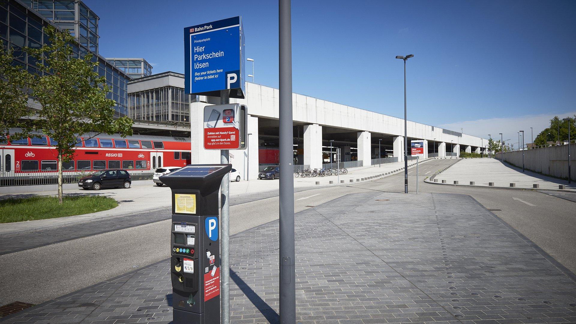 Südkreuz Berlin - Parkscheinautomat © Contipark